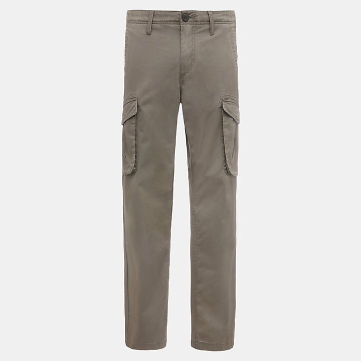 Tarleton Lake Cargo Trousers for Men in Green-