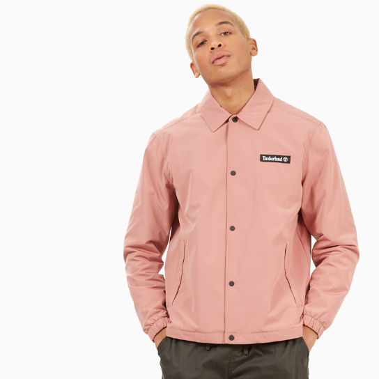 Coach Jacket for Men in Pink | Timberland