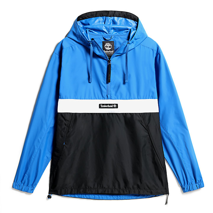 Outdoor Archive Kapuzenanorak für Herren in Blau-