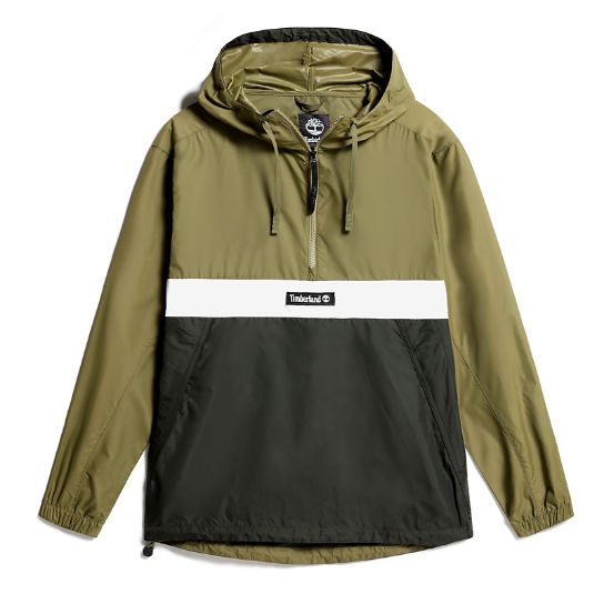 Hooded Outdoor Archive Anorak for Men in green | Timberland
