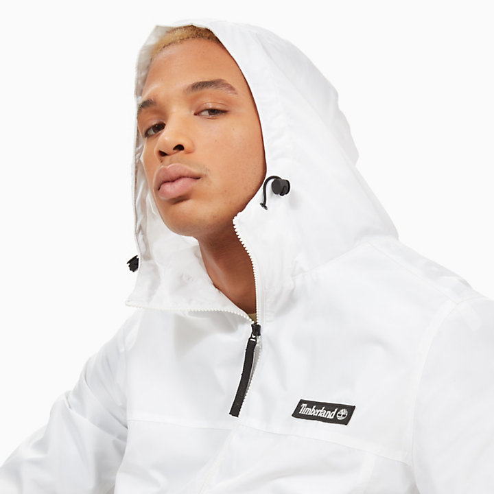 Lightweight Parka for Men in White-