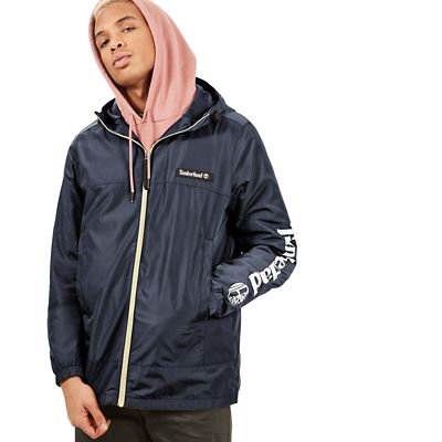 Lightweight+Parka+for+Men+in+Navy