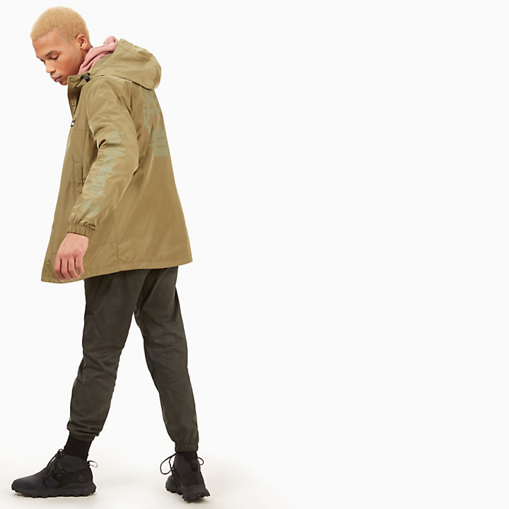 Lightweight Parka for Men in Green-