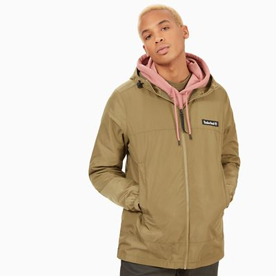Lightweight+Parka+for+Men+in+Green