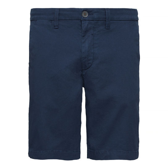 Men's Squam Lake Chino Shorts Blue | Timberland