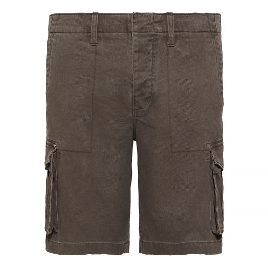 Webster Lake Cargo Shorts Donkerbeige Heren | Timberland
