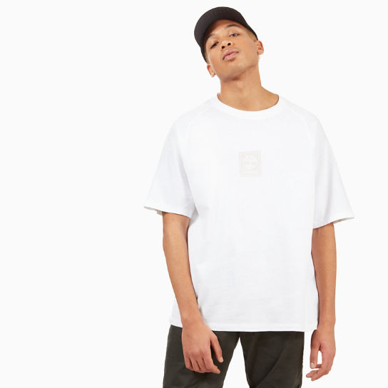 Linear Logo T-shirt voor Heren in Wit | Timberland