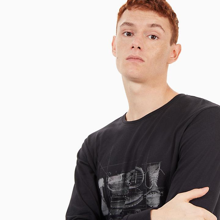 Camiseta Icon Inspired para Hombre en Negro-