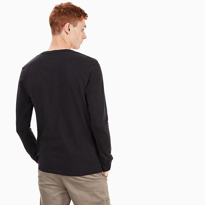 T-shirt Icon Inspired pour homme en noir-
