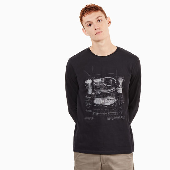 Icon Inspired T-Shirt for Men in Black | Timberland