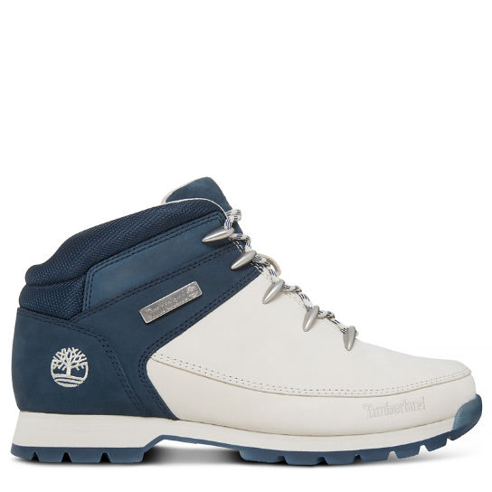 Men's Euro Sprint Hiker White/Navy, white, navy | Timberland