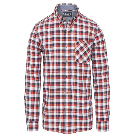 Men's Pleasant River Plaid Shirt Red | Timberland