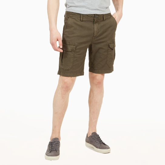 Webster Lake Cargo Shorts for Men in Green | Timberland