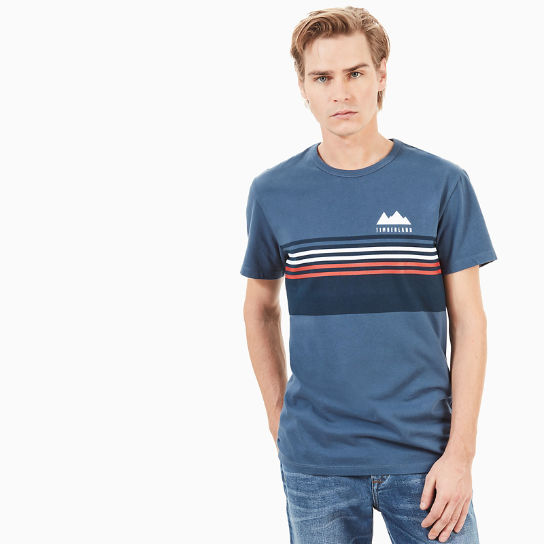 Kennebec River Retro T-Shirt for Men in Indigo | Timberland