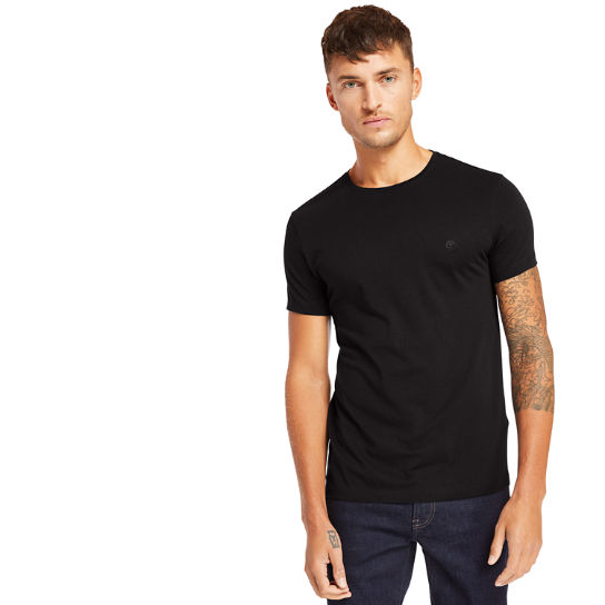 Cocheco River Supima® T-Shirt for Men in Black | Timberland