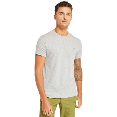 Deer+River+Supima%C2%AE+Cotton+T-shirt+for+Men+in+Grey
