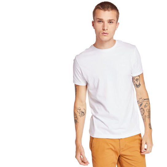 Cocheco River Supima® T-shirt voor Heren in wit | Timberland
