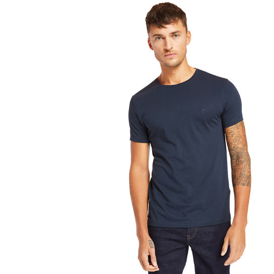 Cocheco River Supima® T-shirt voor Heren in marineblauw | Timberland