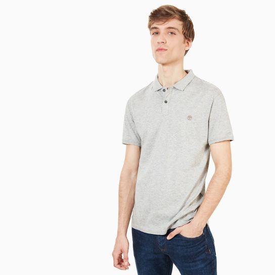 Cocheco River Supima® Cotton Polo for Men in Grey | Timberland