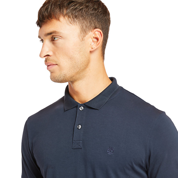 Cocheco River Supima® Polo Herren in Marineblau-
