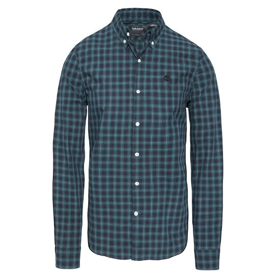Men's Suncook River Tartan Shirt Green | Timberland