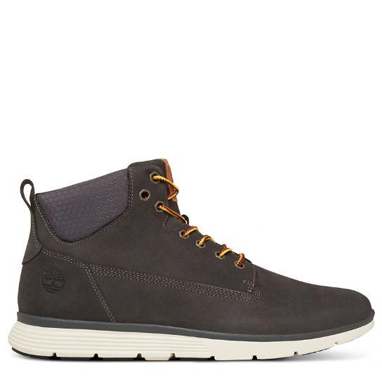 Boots à lacets gris anthracite pour homme NKLW9