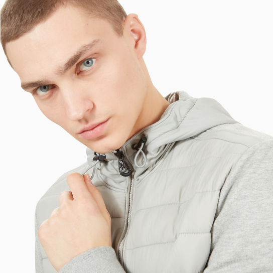 Mount Cabot Hybrid Jacket for Men in Grey | Timberland