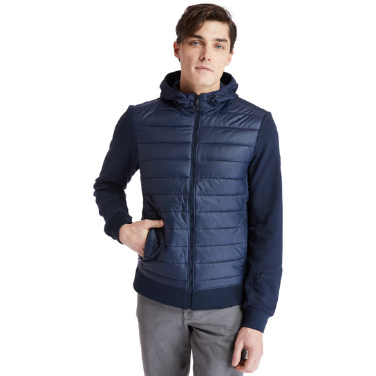 Mount Cabot Hybrid Jacket for Men in Navy | Timberland