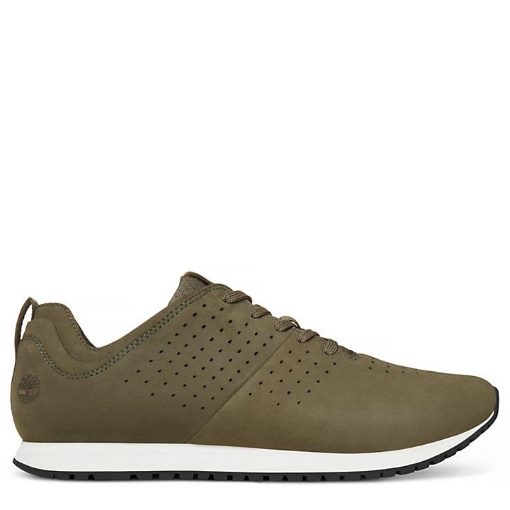 Retro Runner Sneaker Homme Vert-