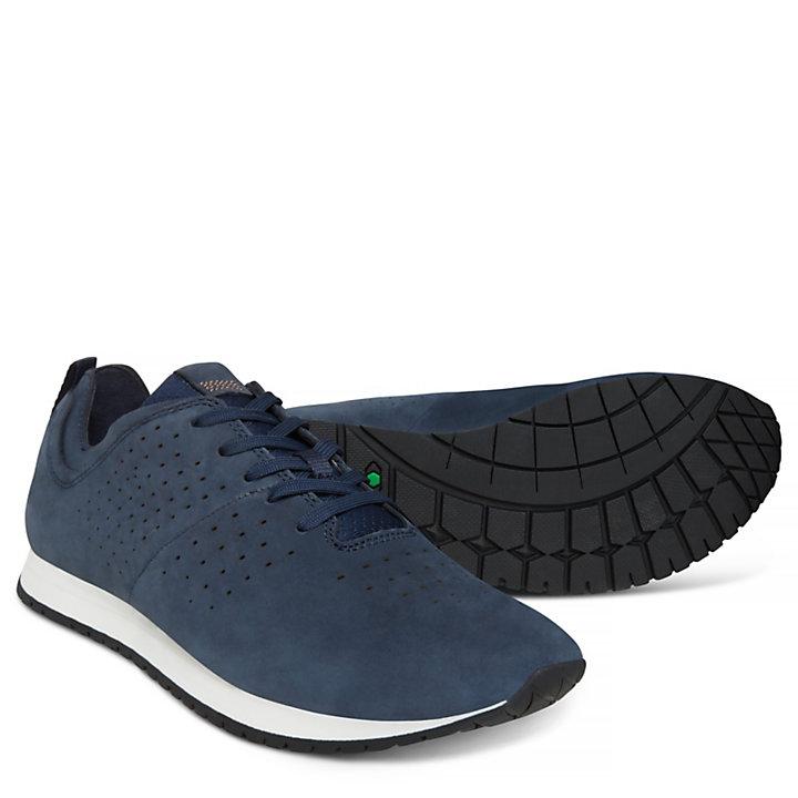 Herren Retro Runner Sneaker Navyblau-