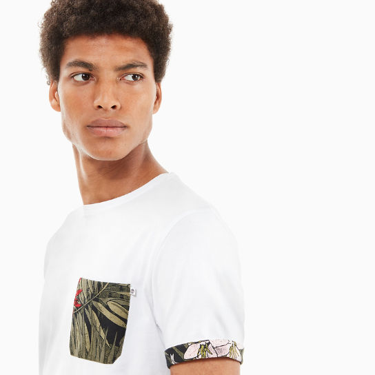 Kennebec River Pocket T-Shirt for Men in White | Timberland