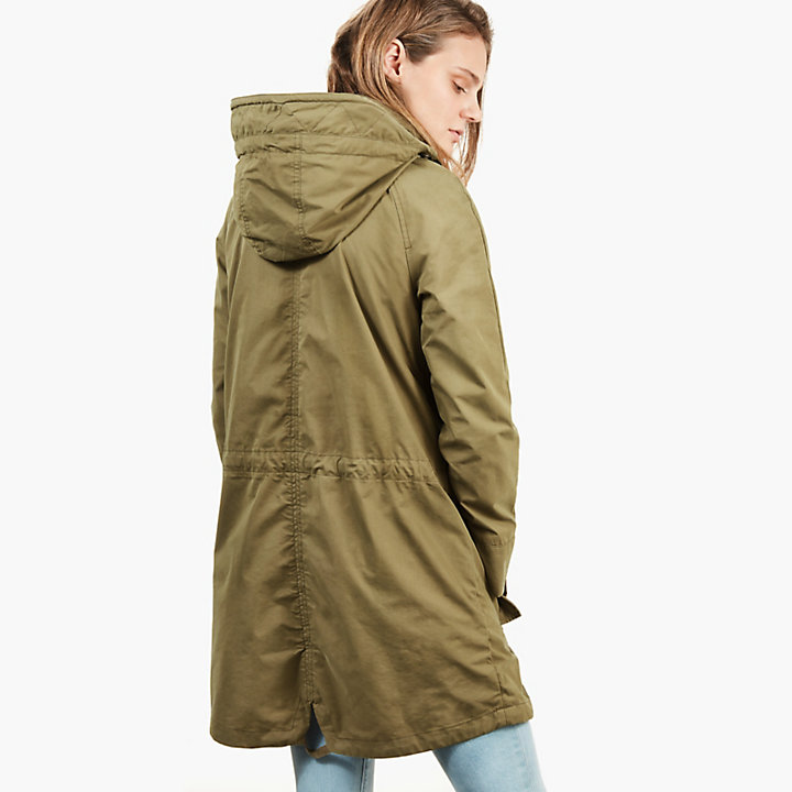 Parka for Women in Green-