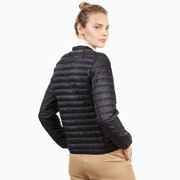 Quilted Jacket for Women in Black-