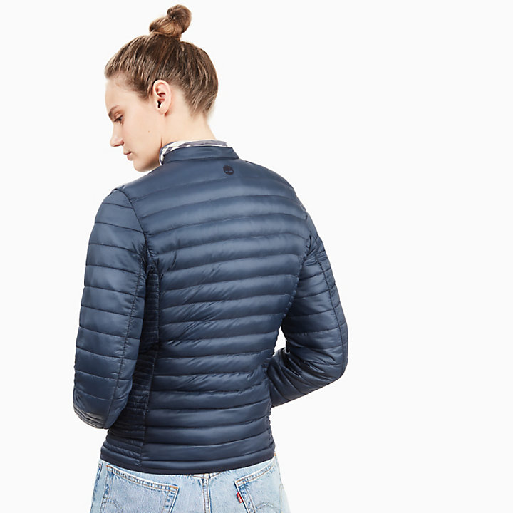 Quilted Jacket for Women in Navy-