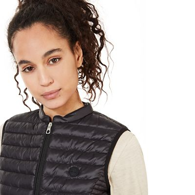 Quilted+Vest+for+Women+in+Black