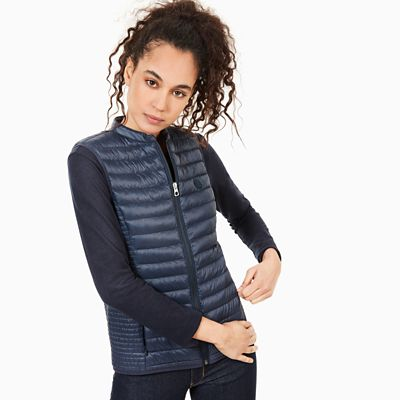 Quilted+Vest+for+Women+in+Navy