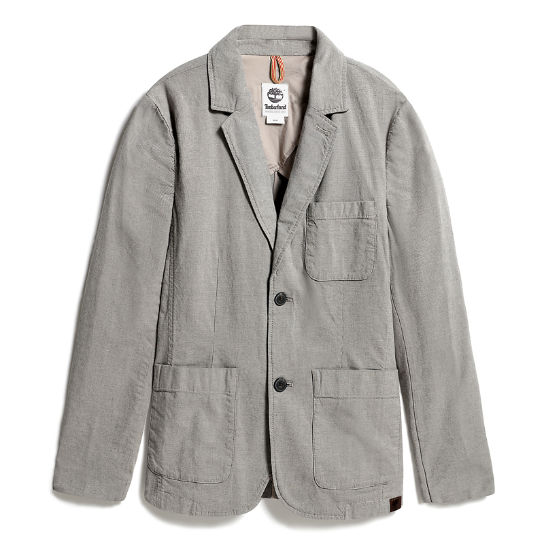 Mount Adams Cotton Blazer for Men in Grey | Timberland