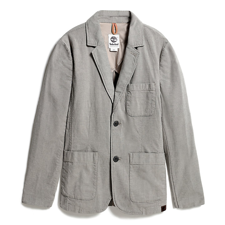 Mount Adams Cotton Blazer for Men in Grey-