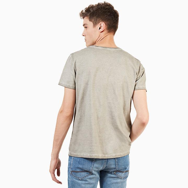 T-shirt Heritage pour homme en gris-