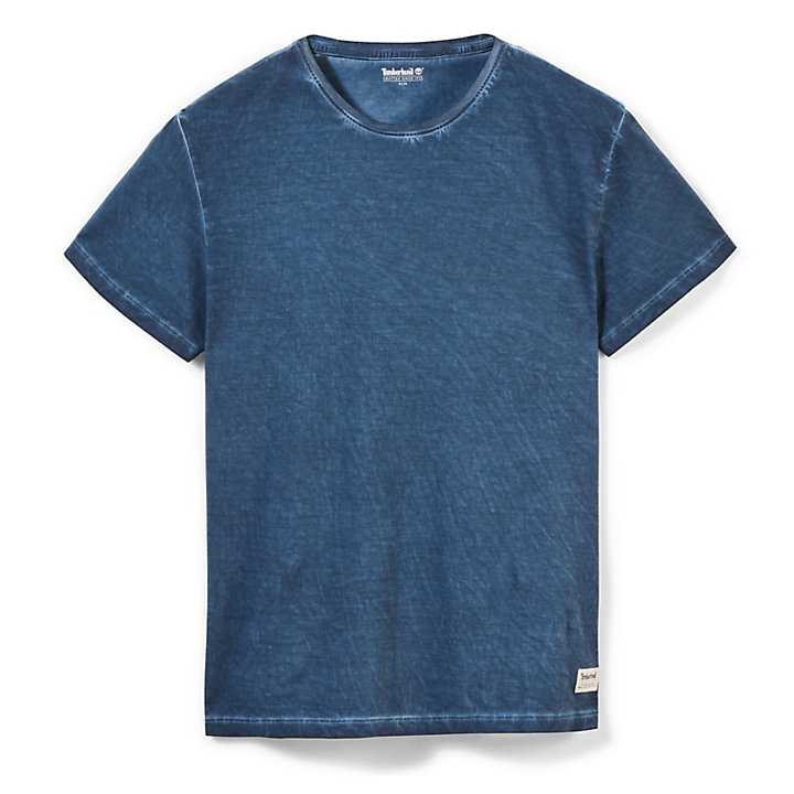 Heritage T-shirt for Men in Indigo-