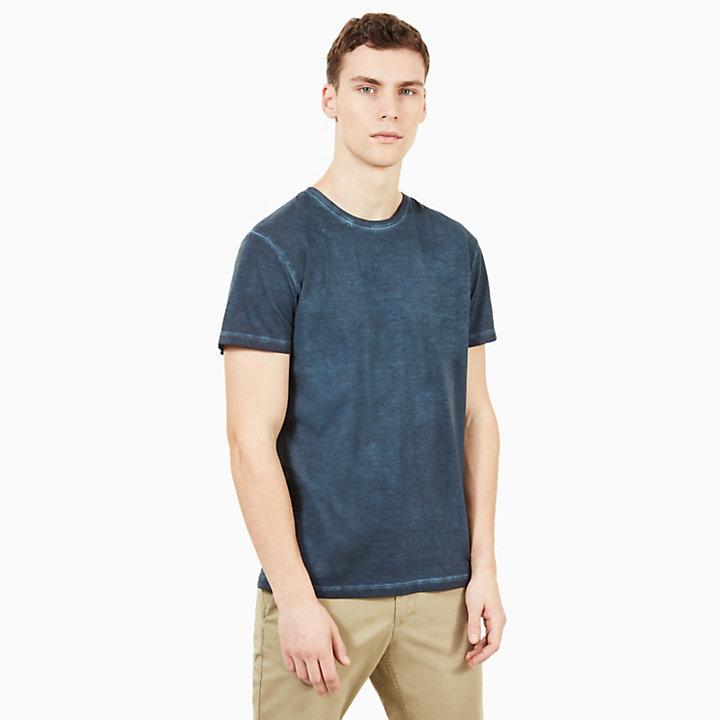 Camiseta Heritage para Hombre en Azul Marino-