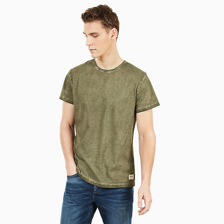 Heritage T-shirt for Men in Dark Green-