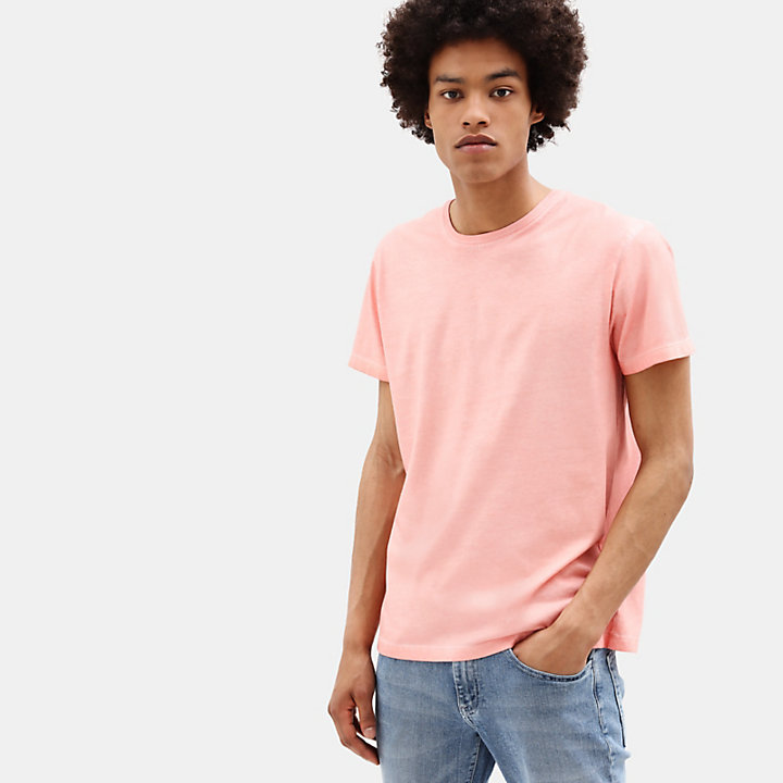 Heritage T-shirt for Men in Pink-