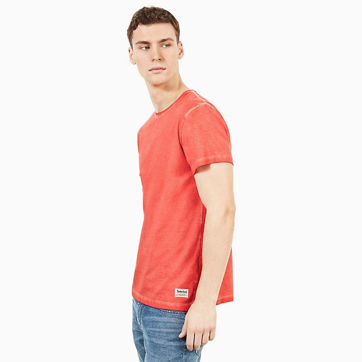 Heritage T-Shirt für Herren in Orange-