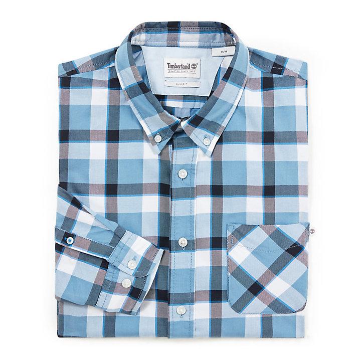 Souhegan River Shirt for Men in Blue-