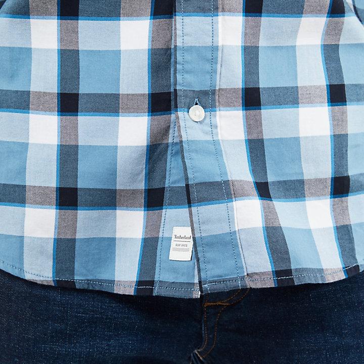 Camisa Souhegan River para Hombre en Azul-
