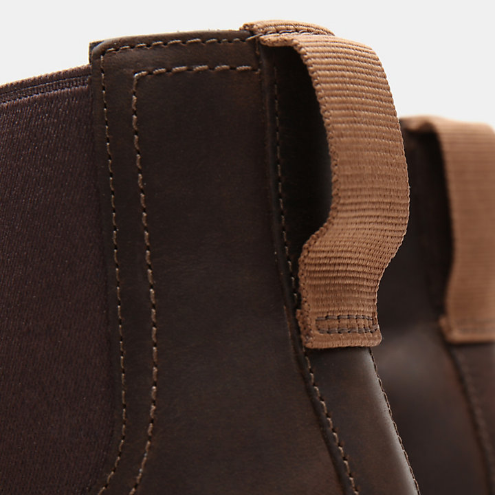 Larchmont Chelsea Boot for Men in Dark Brown-