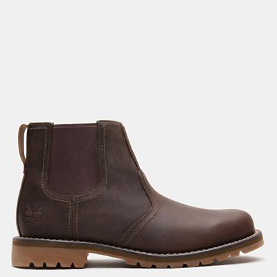Larchmont+Chelsea+Boot+for+Men+in+Dark+Brown