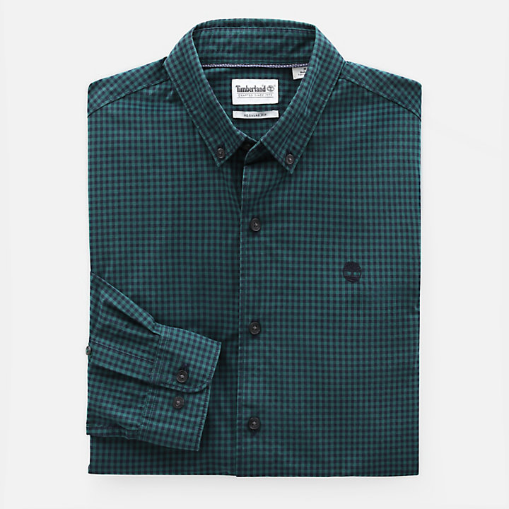 Suncook River Shirt for Men in Green-