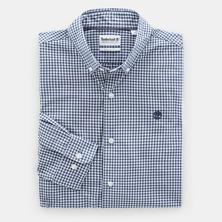 Suncook River Shirt for Men in Light Blue-